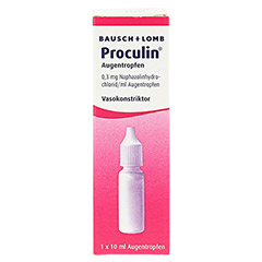 Proculin 10 Milliliter - Rückseite
