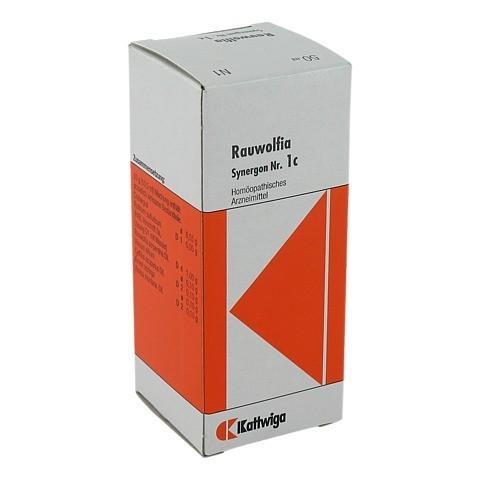 SYNERGON KOMPLEX 1 c Rauwolfia Tropfen 50 Milliliter N1