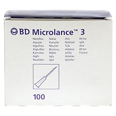 BD MICROLANCE Kanüle 19 G 1 1/2 1,1x40 mm 100 Stück - Vorderseite