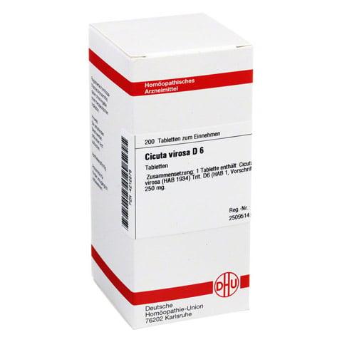 CICUTA VIROSA D 6 Tabletten 200 St�ck N2