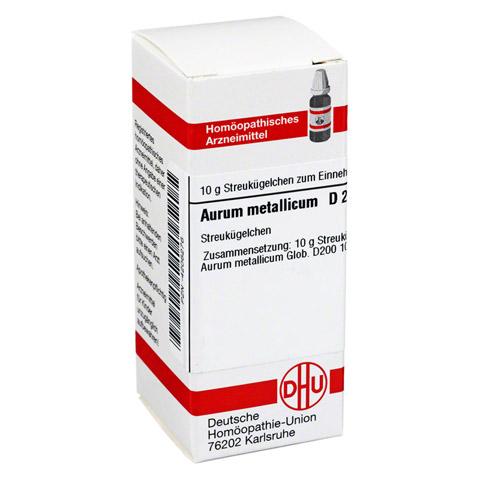 AURUM METALLICUM D 200 Globuli 10 Gramm N1