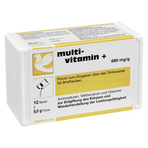 MULTIVITAMIN+ Pulver f.Tauben 12x8.0 Gramm