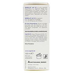 SAGELLA pH 3,5 Waschemulsion 100 Milliliter - Rechte Seite