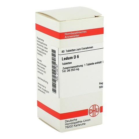 LEDUM D 6 Tabletten 80 St�ck N1