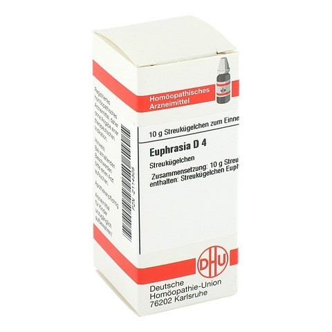 EUPHRASIA D 4 Globuli 10 Gramm N1