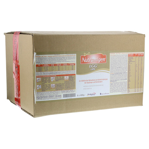 NUTRAMIGEN LGG LIPIL Pulver 6x400 Gramm