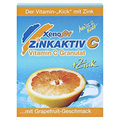 XENOFIT Zinkaktiv C Granulat 10x9 Gramm - Vorderseite