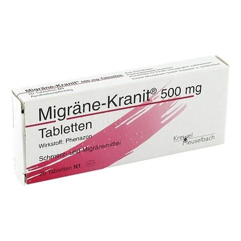 Migräne-Kranit 500mg 20 Stück N1