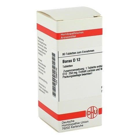 BORAX D 12 Tabletten 80 Stück N1