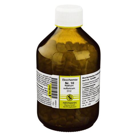 BIOCHEMIE 10 Natrium sulfuricum D 12 Tabletten 1000 St�ck