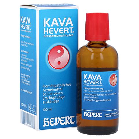 KAVA HEVERT Entspannungstropfen 100 Milliliter N2