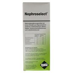 NEPHROSELECT 500 Milliliter - Rückseite