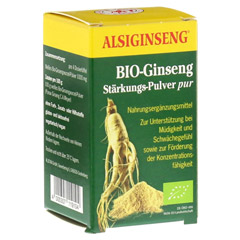 ALSIGINSENG St�rkungspulver pur 30 Gramm