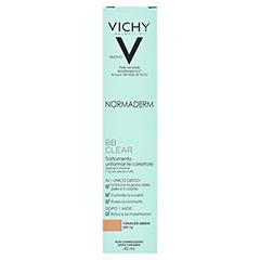 VICHY NORMADERM BB Clear Creme mittel LSF 16 40 Milliliter - Rückseite
