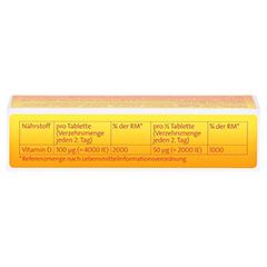 VITAMIN D3 Hevert 4.000 I.E. Tabletten 30 Stück - Oberseite
