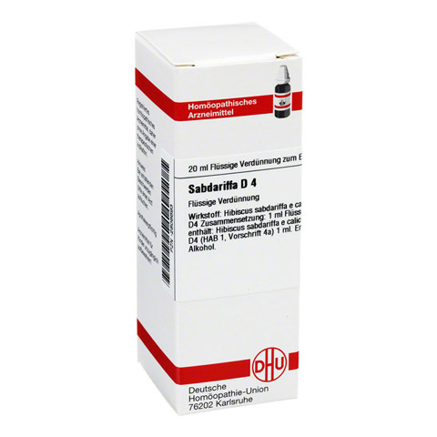 SABDARIFFA D 4 Dilution 20 Milliliter N1