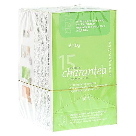 CHARANTEA Teebeutel Lemon/Mint 15 Stück