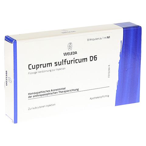 CUPRUM SULFURICUM D 6 Ampullen 8x1 Milliliter N1