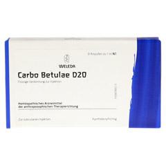 CARBO BETULAE D 20 Ampullen 8x1 Milliliter N1 - Vorderseite