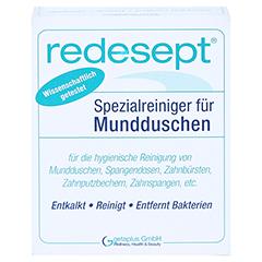 REDESEPT Spezialreiniger für Mundduschen Pulver 150 Gramm - Vorderseite