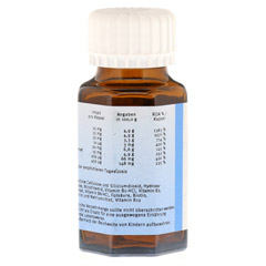 NATURAFIT Vitamin B Komplex F Kapseln 90 St�ck - Linke Seite