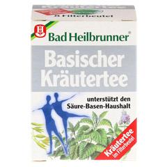 BAD HEILBRUNNER Tee Basische Kräuter Filterbeutel 8 Stück - Vorderseite