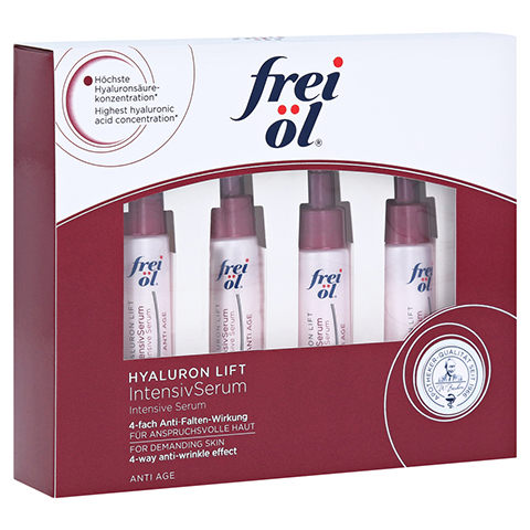 FREI �L Anti-Age Hyaluron Lift IntensivSerum 4x6 Milliliter