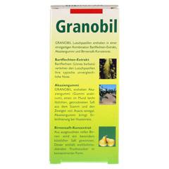 GRANOBIL Grandel Pastillen 40 Stück - Rückseite