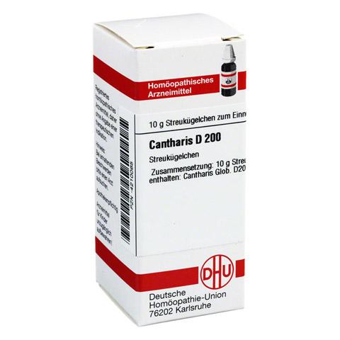 CANTHARIS D 200 Globuli 10 Gramm N1