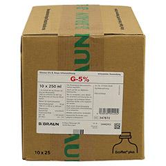 GLUCOSE 5% B.Braun Ecoflac Plus 10x250 Milliliter N2 - Vorderseite