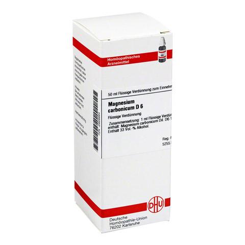 MAGNESIUM CARBONICUM D 6 Dilution 50 Milliliter N1