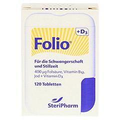 FOLIO+D3 Filmtabletten 120 St�ck - Vorderseite