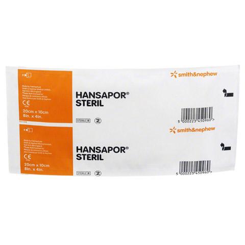 HANSAPOR steril Wundverband 10x20 cm 1 Stück