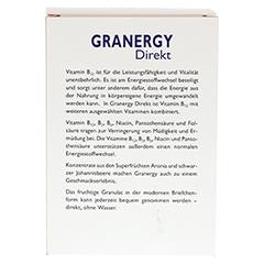 GRANDEL GRANERGY Direkt B12 plus Briefchen 40 Stück - Rückseite