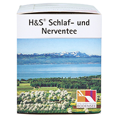 H&S Schlaf-und Nerventee 20 Stück - Rechte Seite