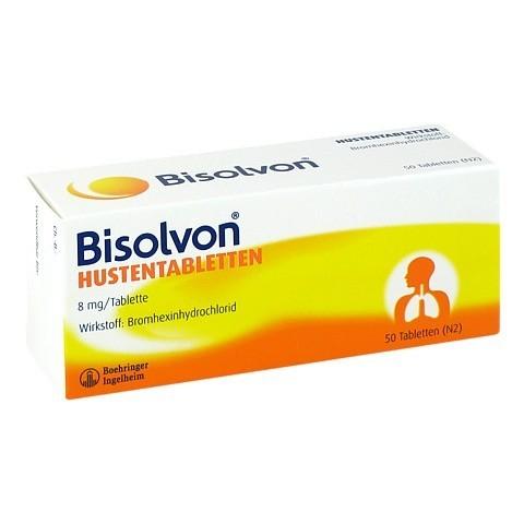 Bisolvon Hustentabletten 50 Stück N2