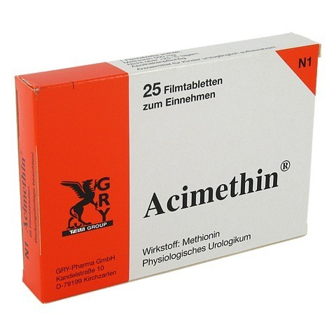 ACIMETHIN Filmtabletten 25 Stück N1