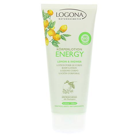 LOGONA Körperlotion Lemon & Ingwer 200 Milliliter