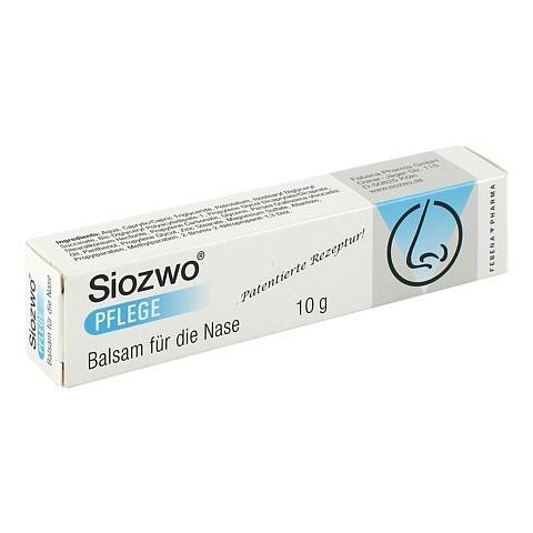 SIOZWO Pflege Balsam für die Nase 10 Gramm