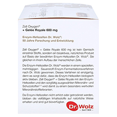 ZELL OXYGEN+Gelee Royale 600 mg Trinkampullen 14x20 Milliliter - Linke Seite