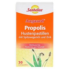 SANHELIOS Aagaard Husten-Pastillen mit Propolis 30 Stück - Vorderseite