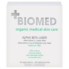 BIOMED Alpha Beta Laser Peeling 30 Milliliter - Rückseite