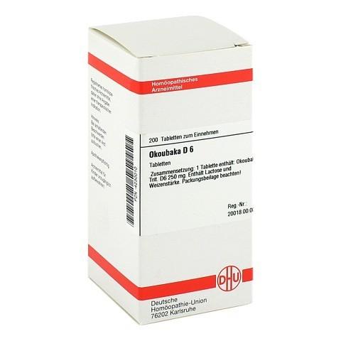 OKOUBAKA D 6 Tabletten 200 St�ck N2
