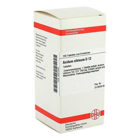 ACIDUM NITRICUM D 12 Tabletten 200 Stück N2