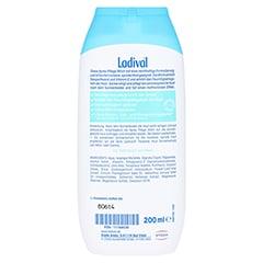 LADIVAL trockene Haut Apres Pflege Milch 200 Milliliter - Rückseite