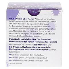 LAVERA Re-Energizing Sleeping Cream 50 Milliliter - Rückseite