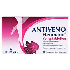 ANTIVENO Heumann Venentabletten 30 Stück - Vorderseite