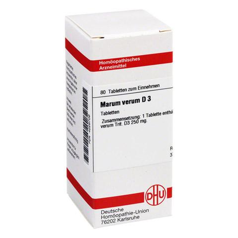 MARUM verum D 3 Tabletten 80 Stück N1