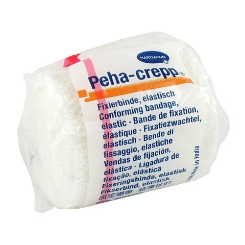 PEHA CREPP Fixierbinde 4 cmx4 m 1 Stück