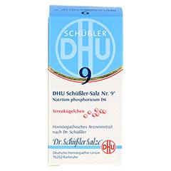 BIOCHEMIE DHU 9 Natrium phosphoricum D 6 Globuli 10 Gramm N1 - Vorderseite